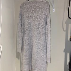 Forever 21 Sweaters - grey long knit sweater with pockets